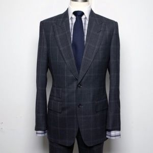 TOM FORD WINDSOR Wool Suit Size 50R